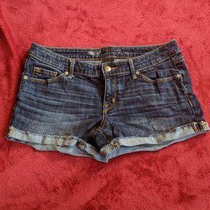 Mossimo Cuffed Denim Shorts